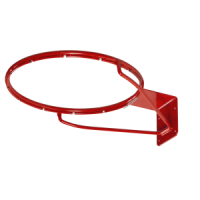 Basketball ring EN1270, orange with safe net mount